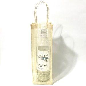 Plain Artisan Wine Bottle Gift Bag